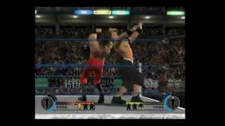 WWE Day of Reckoning 2 Gamecube Gameplay - Edge VS John Cena