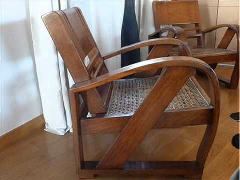 Sillones de youtube for Planos de sillones de madera