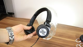 JBL Synchros E30 headphones SPL dB test + quick review