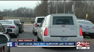 Last Race Riot Survivor Hazel Jones takes last trip through Greenwood