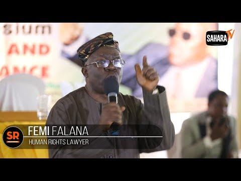 Debunking Mike Ozekhome: Gani Fawehinmi Never Defended Corrupt Persons -Femi Falana