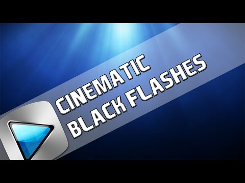 How To: Cinematic Black Flashes In Sony Vegas Pro 11, 12 and 13
