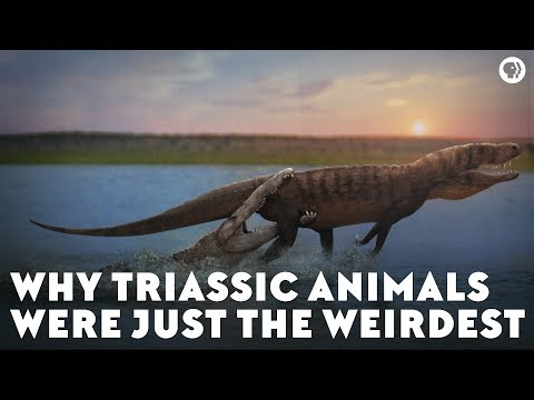Why Triassic Animals Were Just the Weirdest