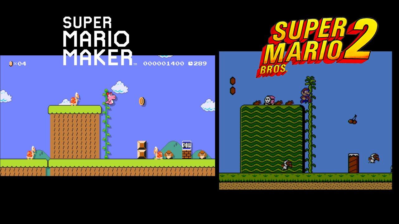 Download Mario Maker Event Course Comparison (Super Mario