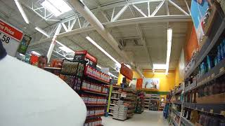 CRAZY WOMAN HARASSING SERVICE DOG & MAN IN WHEELCHAIR AT WALMART!