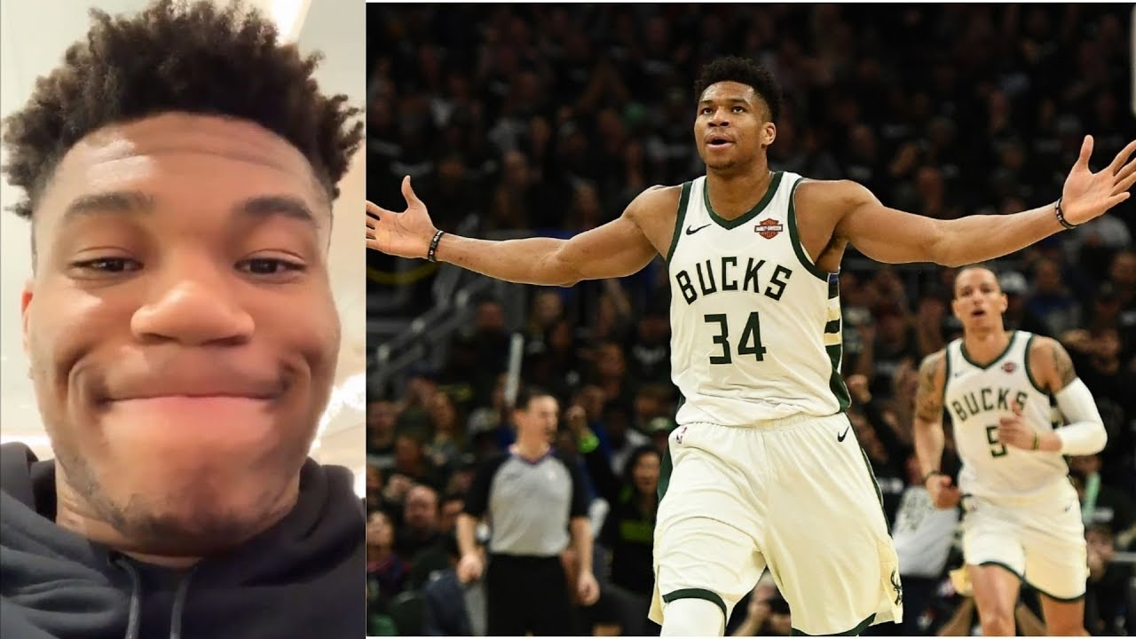 Giannis Antetokounmpo stuck at the airport with his family ...