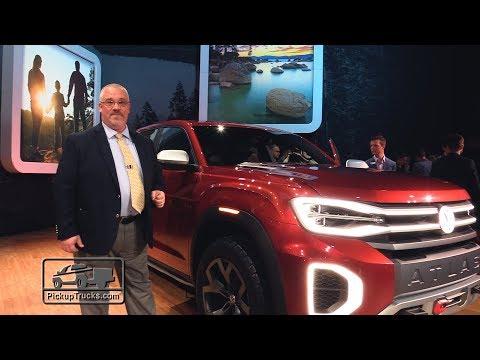 Volkswagen Atlas Tanoak Concept: First Look