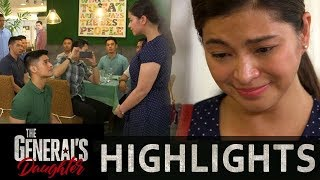 Rhian feels emotional as Ethan proposes to her | The General's Daughter (With Eng Subs)