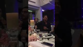 وائل كفوري يغني زجل مع الشاعر حبيب بو انطون