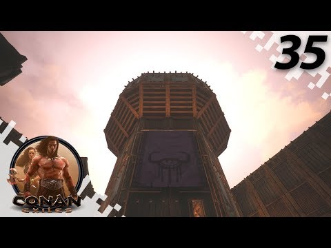 The Watch Tower! - CONAN EXILES: THE FROZEN NORTH - EP35