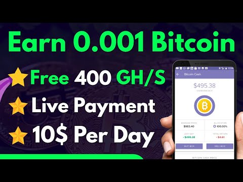 New Top U0026 Best Cloud Mining Site Minexo Review   Earn Free Bitcoin Without Investment Payment Proof