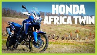 ESSAI MOTO - HONDA AFRICA TWIN UN TRAIL ÉTONNANT