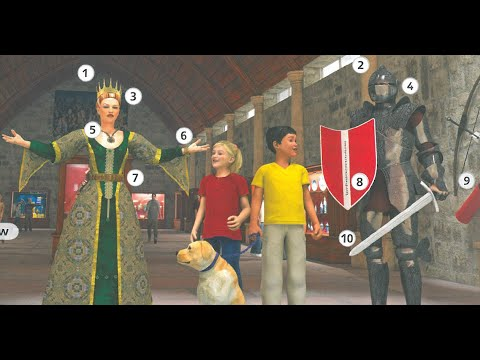 Super Minds 4 In The Museum Page 10 Unit 1 Step 9 Youtube