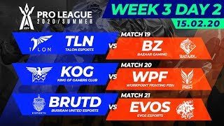 RoV Pro League 2020/Summer | Week 3 Day 2