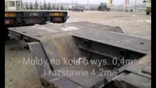 Transport kombajnu New Holland TC 56