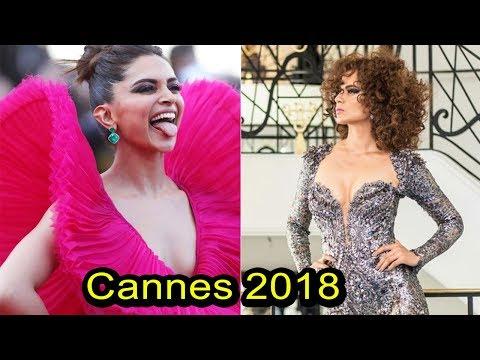 Deepika Padukon vs Kangana Ranaut Who Looks Best at 2018 Cannes Film Festival