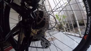 Unboxing BIKE Ozark Trail KAMET / Walmart 2017 (VÍDEO 2)