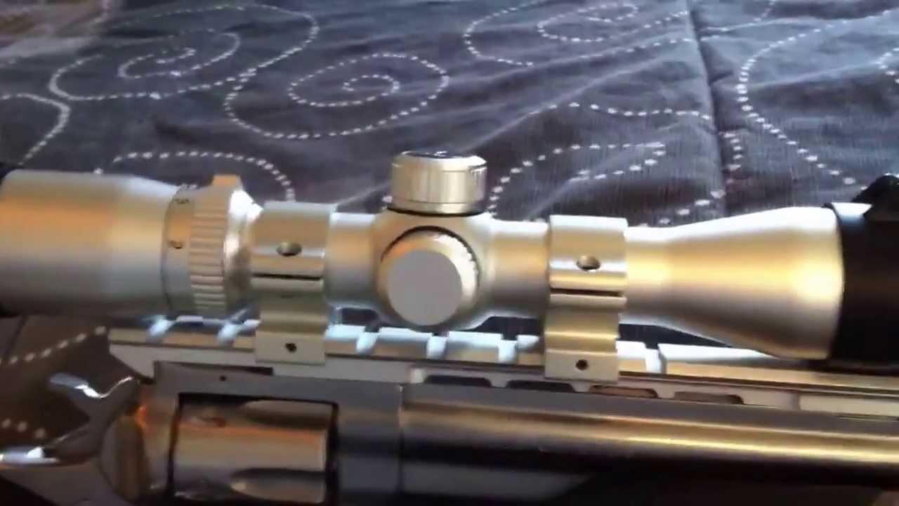 Ruger Gp100 Scoped