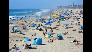 Quick Look At Huntington Beach Today    Sept. 20, 2020