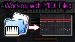 How To Import MIDI Files