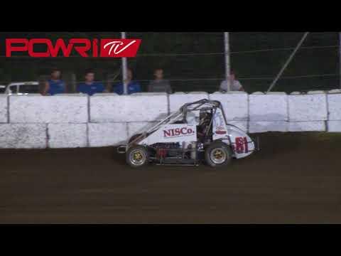 8/25/18 POWRi Lucas Oil West Midgets League at Humboldt Speedway