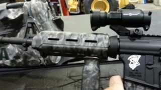 Ar 15 And Reaper Camo Rifle Bag