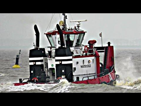 beautiful WAGENBORG tugs WATERGEUS IMO 9110860 & WATERSTAD IMO 8985969 Emden
