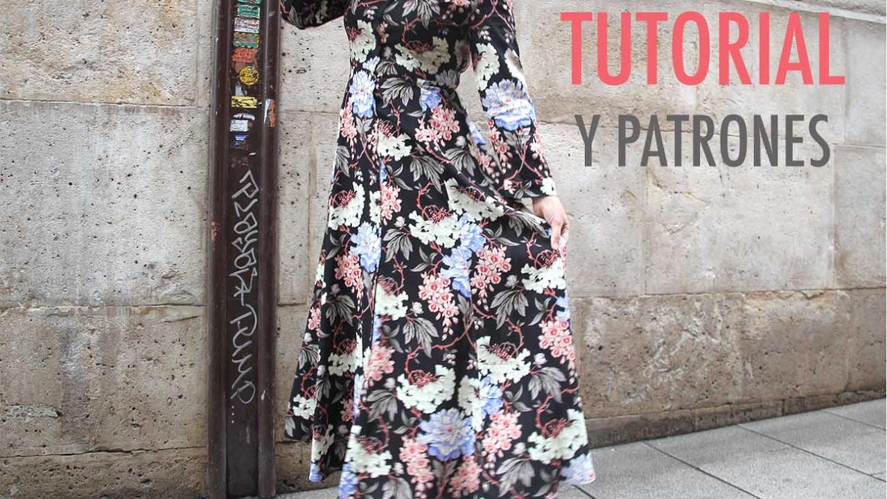 DIY Costura Vestido largo de mujer patrones gratis