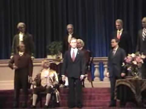 Magic Kingdom Hall of Presidents Walt Disney World Liberty Square