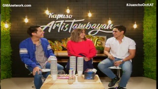 LIVE STREAM: ArtisTambayan featuring Juancho Trivino, Joyce Pring and Andre Lagdameo
