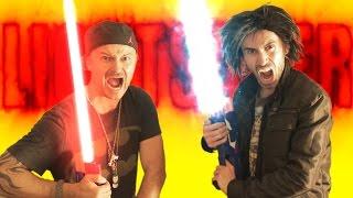 Nerf War: LIGHTSABER Gun! thumbnail