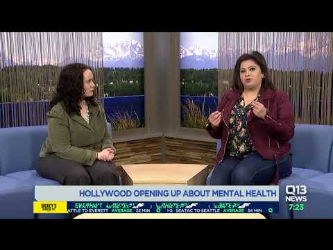 Hollywood is opening up about mental health