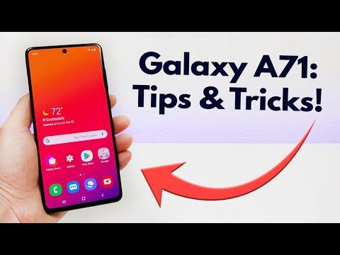 Samsung Galaxy A71 - Tips And Tricks! (Hidden Features)