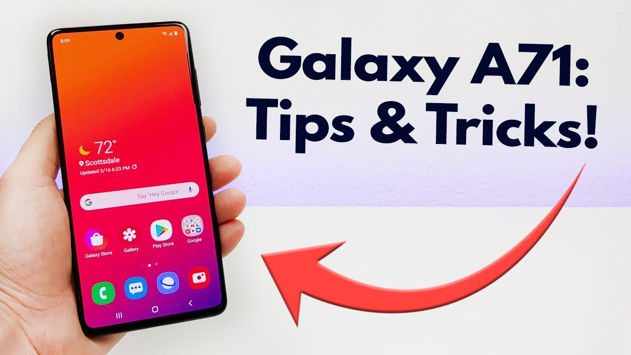Samsung Galaxy A71 - Tips and Tricks! (Hidden Features)
