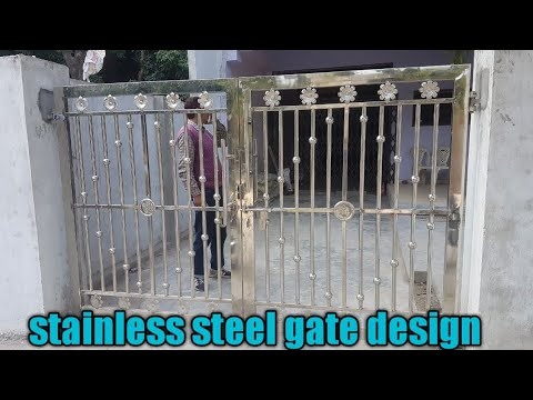 Stainless Steel Gate Design Steel Gate Design For Home