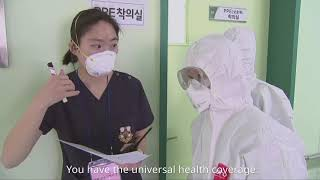 Sharing COVID-19 experiences: The Republic of Korea response