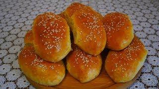 Пирожки с рисом яйцом и зеленым луком на воде  Пирожки в духовке
