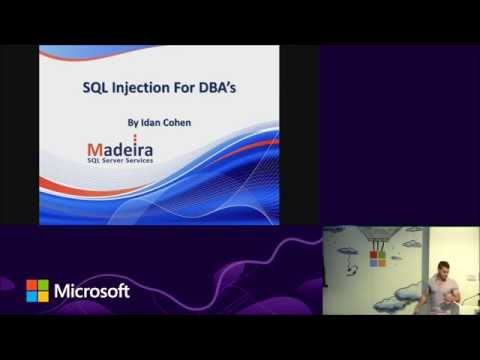 SQL Injections for DBAs - Idan Cohen