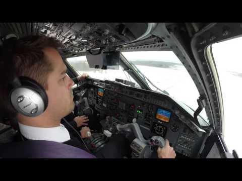 Embraer 120 Short Final GPS Approach