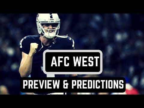 AFC West Division Preview | NFL Predictions 2017