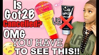 Baixar Applying My Wig Using The Creme Of Nature SNOT?! | Is GOT2B CANCELLED??