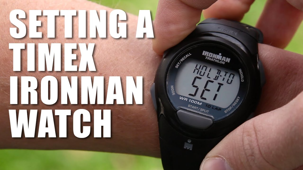 how to set a timex ironman triathlon watch youtube rh youtube com Timex Expedition Indiglo WR 50M Timex Expedition Watch