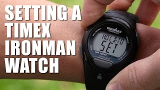 How to Set a Timex Ironman Triathlon Watch