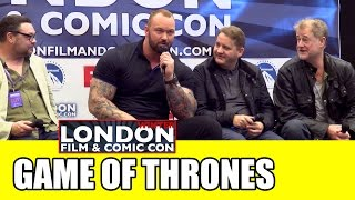 Game of Thrones LFCC Winter Comic Con Panel