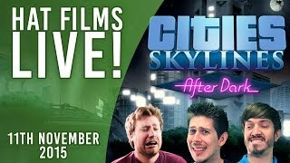 Cities: Skylines - Monkey Island! [Live Archive 11th Nov 2015]