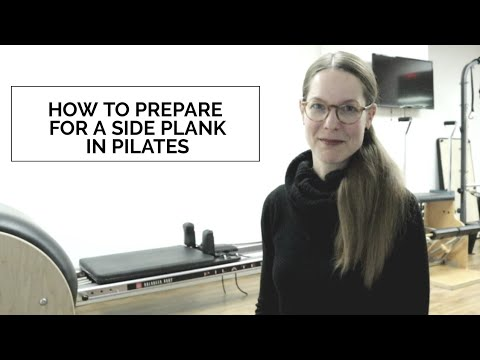 How To Prepare For A Side Plank In Pilates l Presley Pilates