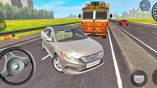 Indian Car Simulator 3d - Hyundai Sonata Car Driving - Car Games Android Gameplay #3