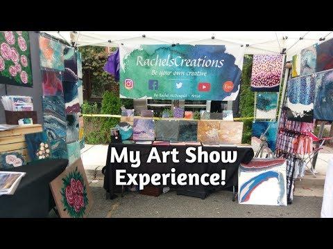 Art Fair Booth Set Up/Preparation // Artist Vlog