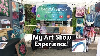Фото Art Fair Booth Set UpPreparation Artist Vlog
