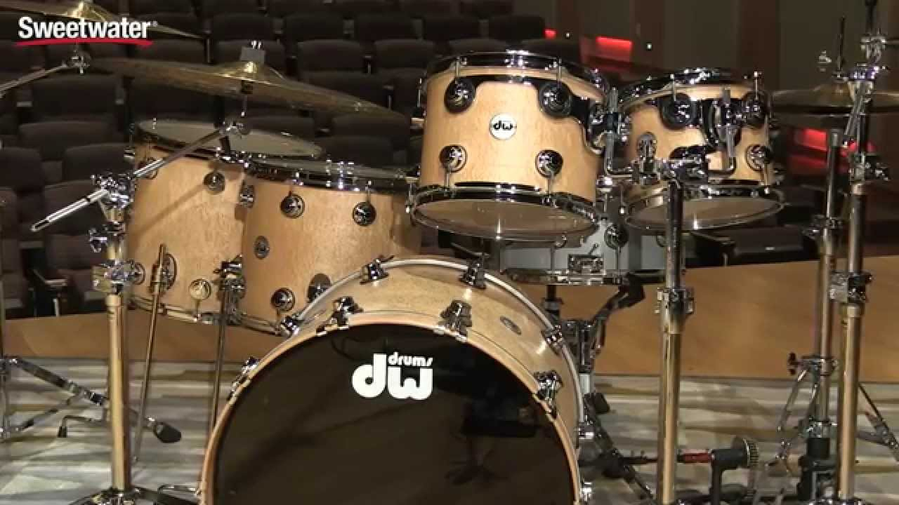 Dw Collector S Exotic Series 5 Piece Shell Pack Teardrop